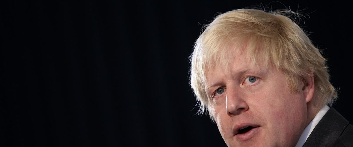 London Mayor Boris Johnson speaks as he launches his campaign for re-election at the Duke Street Church in London