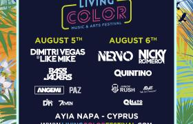 Living color music & arts festival