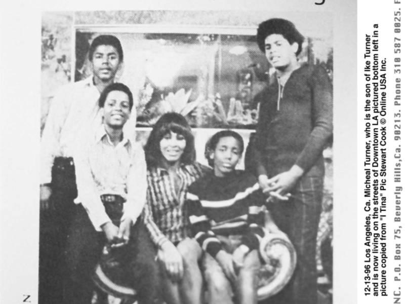 12-13-96 Los Angeles, Ca. Michael Turner who is the son of Ike Turner and is now living on the stree