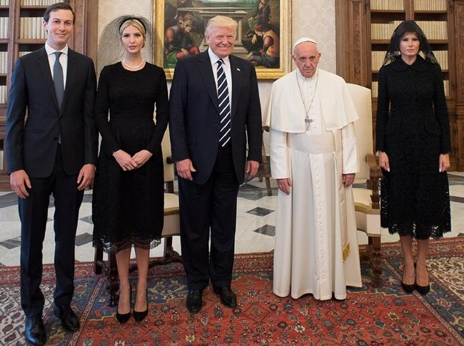 Pope Francis Meets With President Trump - Vatican