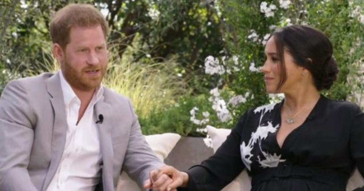 3840910337461379 cbsn-fusion-meghan-markle-and-prince-harry-get-candid-in-oprah-sit-down-interview-on-cbs-thumbnail-656520-640x360