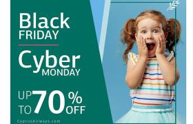Cyprus Airways: Black Friday και Cyber Monday με...
