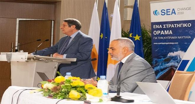 President Anastasiades Pledges Full Support To Shipping Industry